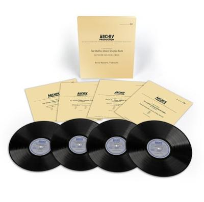 無伴奏チェロ組曲 BWV1007-1012:エンリコ・マイナルディ(チェロ) (BOX仕様/4枚組/180グラム重量盤レコード/Analogphonic)