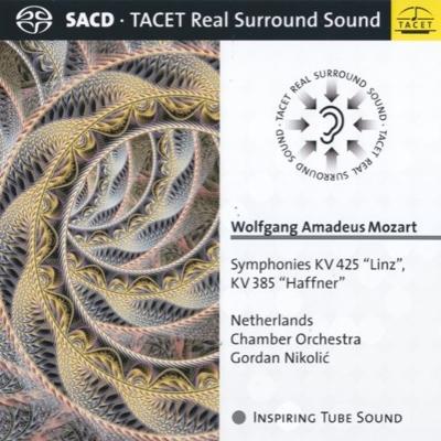 交響曲第35番『ハフナー』、第36番『リンツ』 オランダ室内管弦楽団、ゴルダン・ニコリッチ(コンサート・マスター)