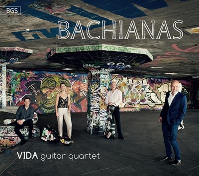 バキアーナス〜ブラジル風に ヴィーダ・ギター四重奏団