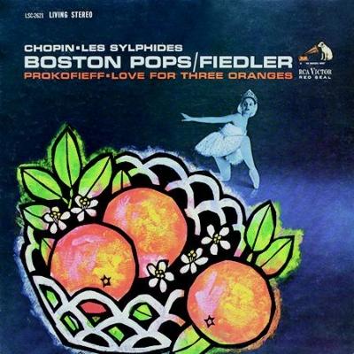 三つのオレンジへの恋、他:アーサー・フィードラー指揮&ボストン・ポップス管弦楽団 (高音質盤/200グラム重量盤レコード/Analogue Productions/*CL)