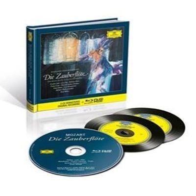 『魔笛』全曲 カール・ベーム&ベルリン・フィル、フリッツ・ヴンダーリヒ、フランツ・クラス、他(1964 ステレオ)(2CD+ブルーレイ・オーディオ)
