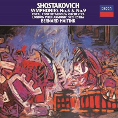 交響曲第5番『革命』、第9番 ベルナルド・ハイティンク&コンセルトヘボウ管弦楽団、ロンドン・フィル