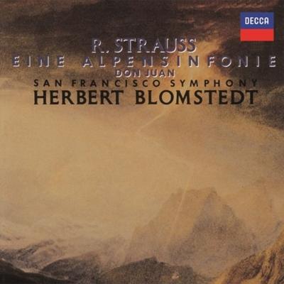 アルプス交響曲、ドン・ファン ヘルベルト・ブロムシュテット&サンフランシスコ交響楽団
