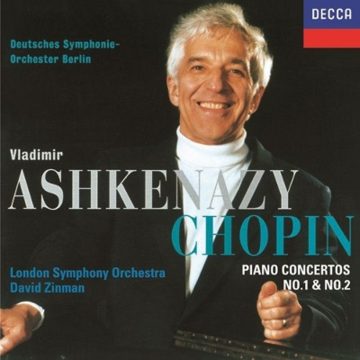 ピアノ協奏曲第1番、第2番 ヴラディーミル・アシュケナージ、ベルリン・ドイツ交響楽団、デイヴィッド・ジンマン&ロンドン交響楽団
