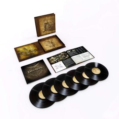 ロード・オブ・ザ・リング・トリロジー オリジナルサウンドトラック (6枚組ボックスセット/180グラム重量盤レコード)
