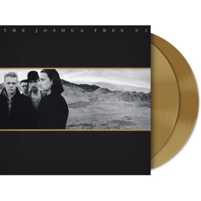 U2 Joshua Tree (Limited Exclusive Gold Vinyl / 2LP)