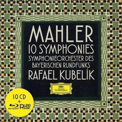 交響曲全集 ラファエル・クーベリック&バイエルン放送交響楽団(10CD+ブルーレイ・オーディオ)