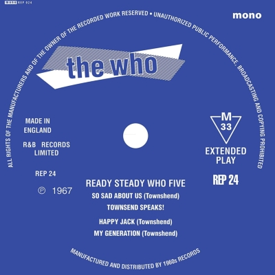 Ready Steady Who Five (7インチシングルレコード/1960's Records)