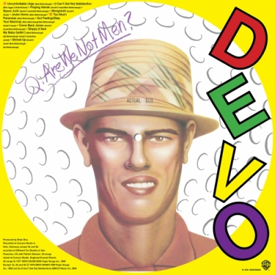 Q: Are We Not Men? A: We Are Devo!【2018 RECORD STORE DAY BLACK FRIDAY 限定盤】(ピクチャーディスク仕様/アナログレコード)