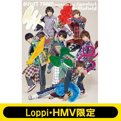 《Loppi・HMV限定盤》 BULLET TRAIN ARENA TOUR 2018 Sweetest Battlefield at Musashino Forest Sport Plaza Main Arena