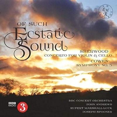コーウェン:交響曲第5番、P.シャーウッド:二重協奏曲 ジョン・アンドルース&BBCコンサート・オーケストラ、マーシャル=ラック、スプーナー