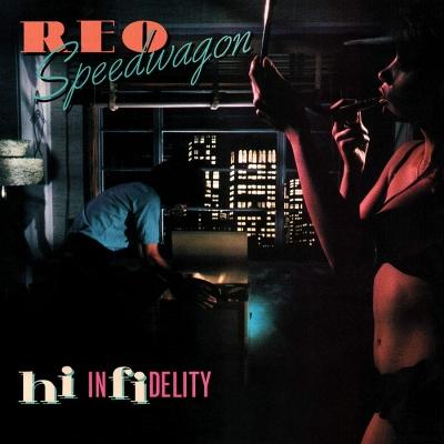 REOスピードワゴンの9TH「禁じられた夜」LP
