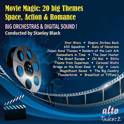movie magic 20 big themes space action romance hmv books