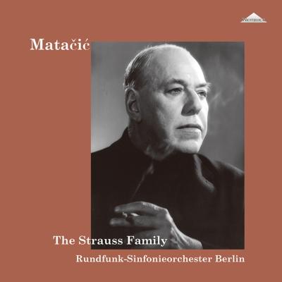 シュトラウス・ファミリーのワルツ・マーチ・ポルカ集 (2枚組アナログレコード)