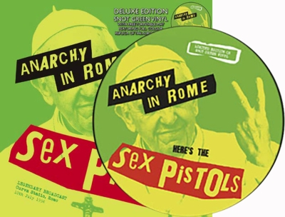 Anarchy In Rome With Turntable Mat【スリップマット付限定盤】(スノット・グリーン・ヴァイナル仕様/アナログレコード/CODA Publishing)