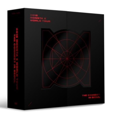 2018 MONSTA X WORLD TOUR THE CONNECT IN SEOUL (3DVD)