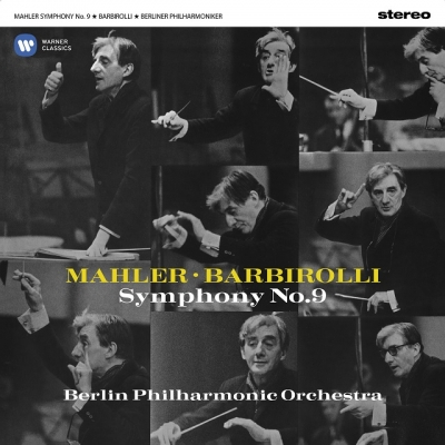交響曲第9番:ジョン・バルビローリ指揮&ベルリン・フィルハーモニー管弦楽団 (2枚組/180グラム重量盤レコード/Warner Classics)