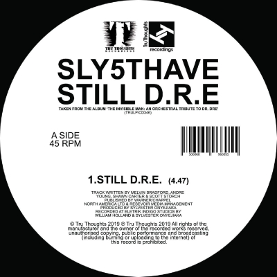 Let Me Ride / Still D.R.E.(7インチシングルレコード/Tru Thoughts)
