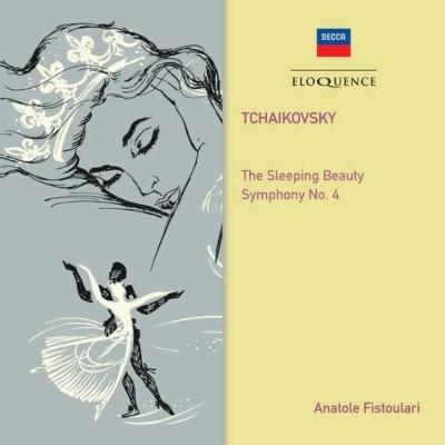 バレエ音楽『眠りの森の美女』(1952)、交響曲第4番(1971) アナトール・フィストゥラーリ&パリ音楽院管弦楽団、ロイヤル・フィル(2CD)