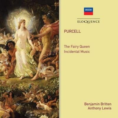『妖精の女王』全曲 ベンジャミン・ブリテン&イギリス室内管弦楽団、ジェニファー・ヴィヴィアン、ピーター・ピアーズ、他(1970 ステレオ)+劇音楽集(2CD)
