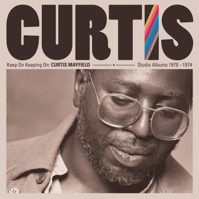 Keep On Keeping On: Curtis Mayfield Studio Albums 1970-1974 (4枚組/180グラム重量盤レコード/Rhino)