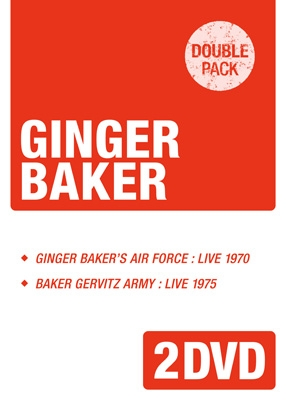 Ginger Baker's Airforce 1970 / Baker Gurvitz Army 1975 (2DVD)