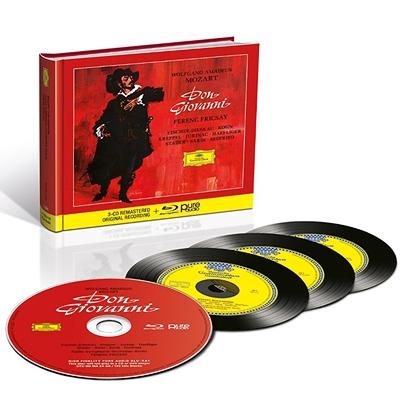 『ドン・ジョヴァンニ』全曲 フェレンツ・フリッチャイ&ベルリン放送交響楽団、フィッシャー=ディースカウ、他(1958 ステレオ)(3CD+ブルーレイ・オーディオ)