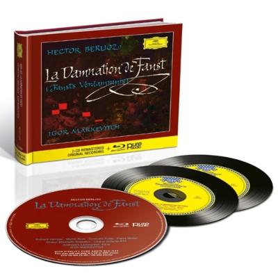 『ファウストの劫罰』 イーゴリ・マルケヴィチ&ラムルー管弦楽団(2CD+ブルーレイ・オーディオ)
