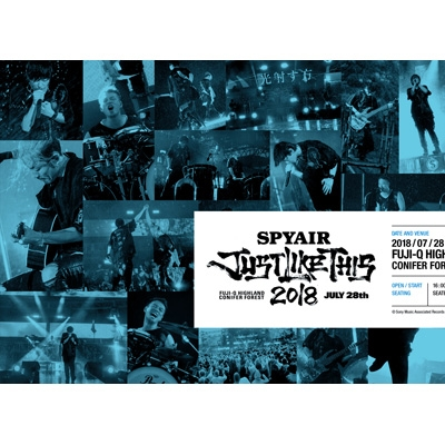 JUST LIKE THIS 2018 【完全生産限定盤】(Blu-ray)