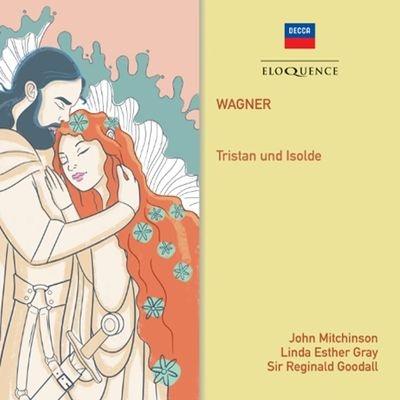 『トリスタンとイゾルデ』全曲 レジナルド・グッドール&ウェールズ・ナショナル・オペラ、リンダ・エスター・グレイ、ミッチンソン、他(1980-81 ステレオ)(4CD)