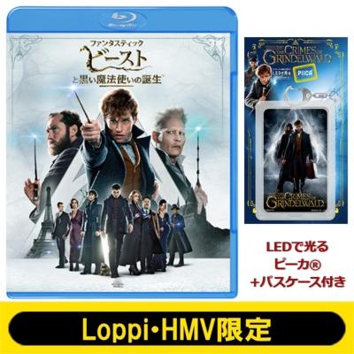 【Loppi・HMV限定】ファンタスティック・ビーストと黒い魔法使いの誕生 エクステンデッド版ブルーレイセット(LEDで光る ピーカ(R)+パスケース付き)