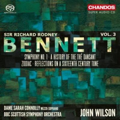 交響曲第1番、ダンスの歴史、16世紀の旋律によるリフレクション、ゾディアック ジョン・ウィルソン&BBCスコティッシュ交響楽団、サラ・コノリー