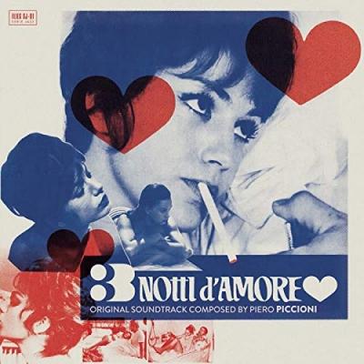 3 Notti D'amore オリジナルサウンドトラック (アナログレコード)