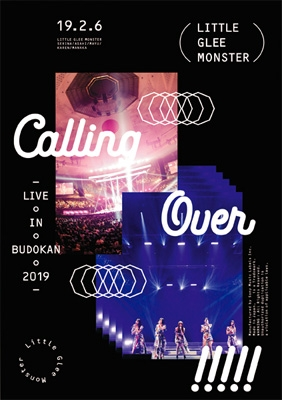 Little Glee Monster Live in BUDOKAN 2019〜Calling Over!!!!! (Blu-ray)