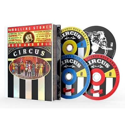 Rock And Roll Circus: Limited Deluxe Edition (Blu-ray+DVD+2CD)