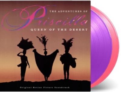 プリシラ オリジナルサウンドトラック (ピンク&パープル・ヴァイナル仕様/2枚組/180グラム重量盤アナログレコード/Music On vinyl)