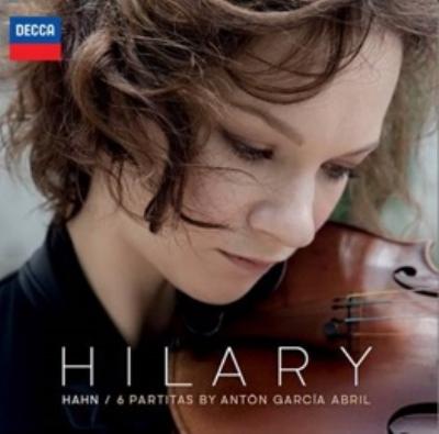 無伴奏ヴァイオリンのための6つのパルティータ ヒラリー・ハーン(Vn)(アナログレコード/Decca)