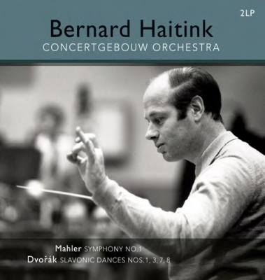 交響曲第1番 ハイティンク&コンセルトヘボウ管弦楽団(1962)、ドヴォルザーク「スラヴ舞曲」1番、3番、7番、8番 (2枚組アナログレコード/Vinyl Passion Classical)