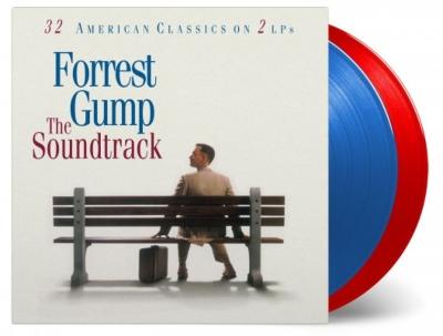 Forrest Gump (レッド&ブルー・ヴァイナル仕様/2枚組/180g重量盤アナログレコード/Music On Vinyl)