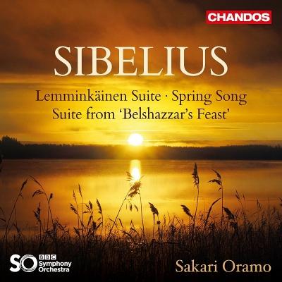 レンミンカイネン組曲、春の歌、『ベルシャザールの饗宴』組曲 サカリ・オラモ&BBC交響楽団(日本語解説付)