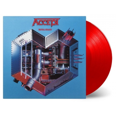 Metal Heart (カラーヴァイナル仕様/180グラム重量盤レコード/Music On Vinyl)
