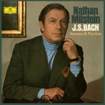 無伴奏ヴァイオリンのためのソナタとパルティータ : ナタン・ミルシテイン (3枚組アナログレコード)