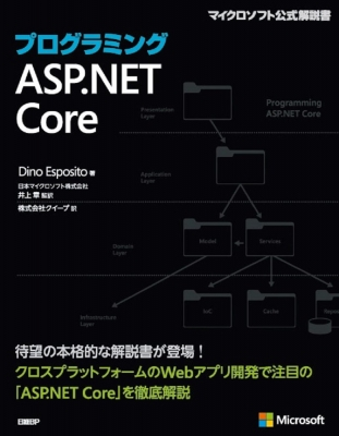 プログラミングasp.net Core マイクロソフト関連書