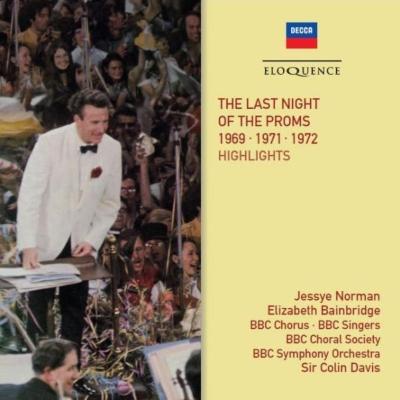 『ザ・ラスト・ナイト・オブ・ザ・プロムス 1969、1971、1972より』 コリン・デイヴィス&BBC交響楽団(2CD)