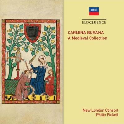 『カルミナ・ブラーナ』全4巻 フィリップ・ピケット&ニュー・ロンドン・コンソート(4CD)