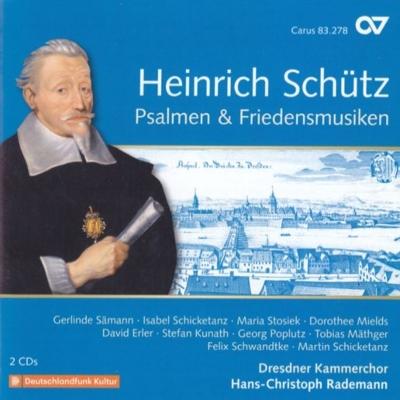 詩篇と平和のための音楽 ハンス=クリストフ・ラーデマン&ドレスデン室内合唱団、インストゥルメンタリステン(2CD)