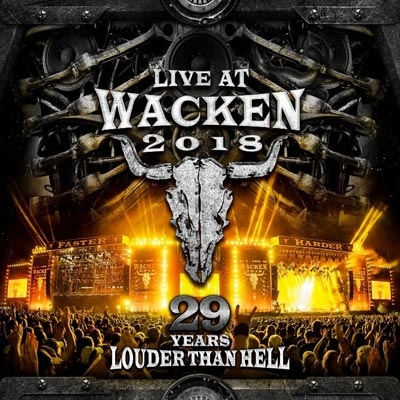 Live At Wacken 2018 -29 Years Louder Than Hell (2CD+2DVD)