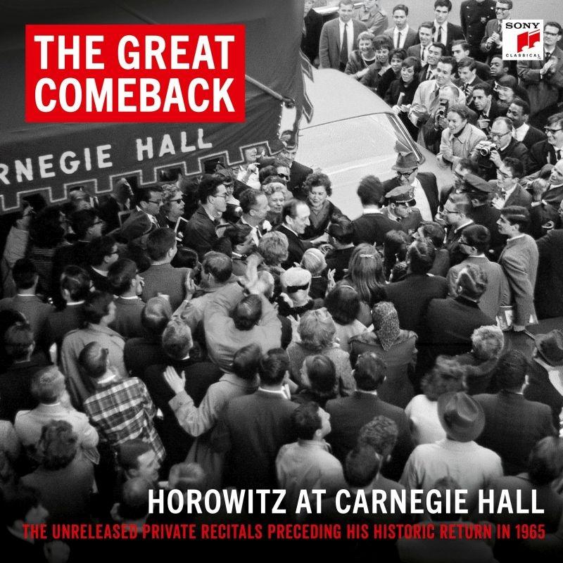 ウラディミール・ホロヴィッツ ザ・グレイト・カムバック〜ホロヴィッツ・アット・カーネギー・ホール 1965&1966(15CD)
