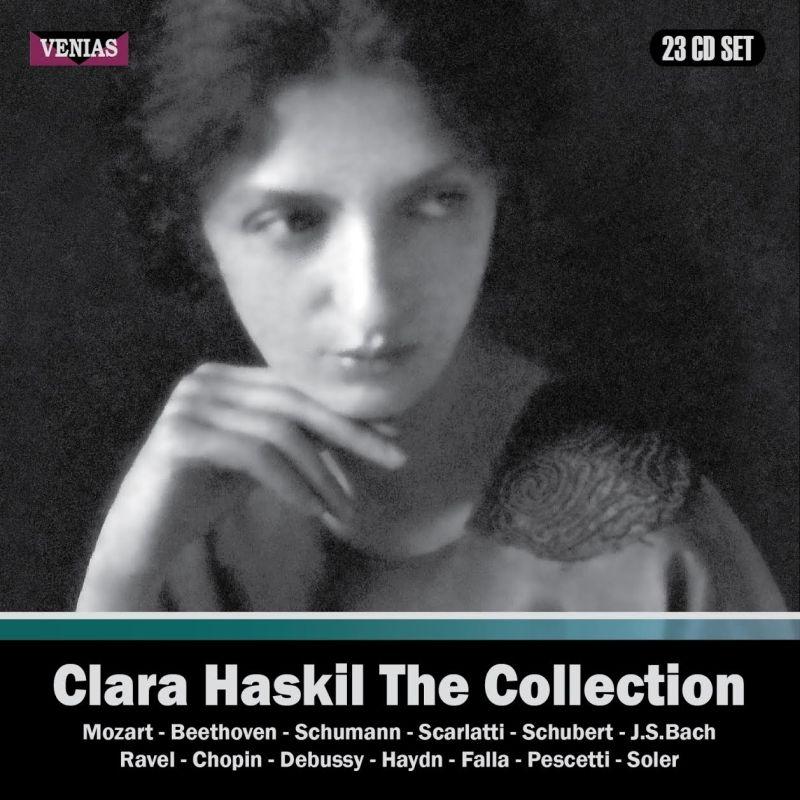 クララ・ハスキル・コレクション 1934-1960(23CD)