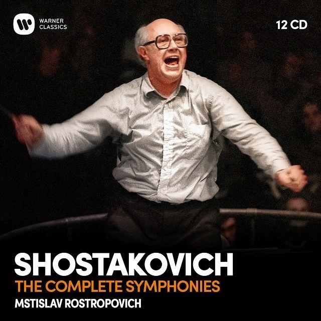 交響曲全集 ムスティスラフ・ロストロポーヴィチ&ワシントン・ナショナル交響楽団、ロンドン交響楽団(12CD)